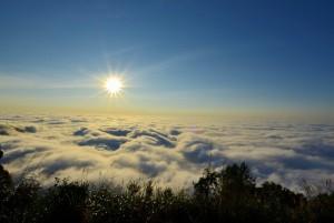 二尖山雲海